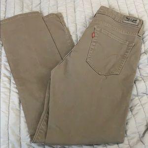 b67dfb5f1c3 Women Khaki Jeans Levis on Poshmark